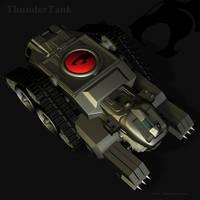 ThunderCat Chronicles: Tank 3 by blackzig