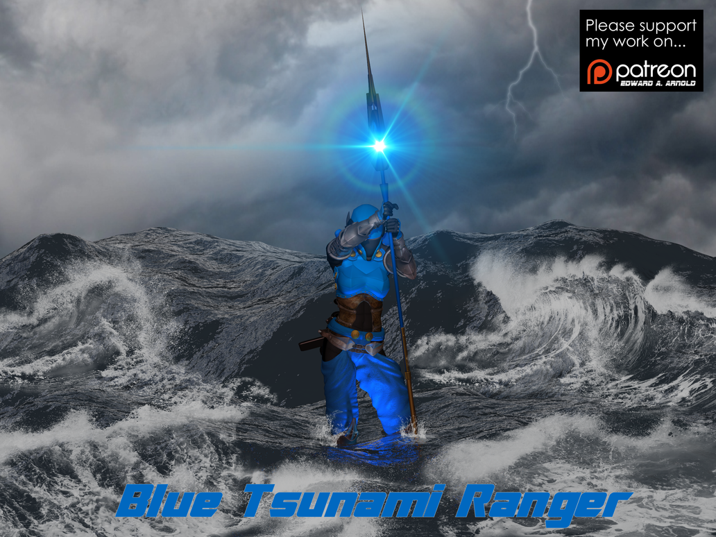 Blue Tsunami Ranger by blackzig