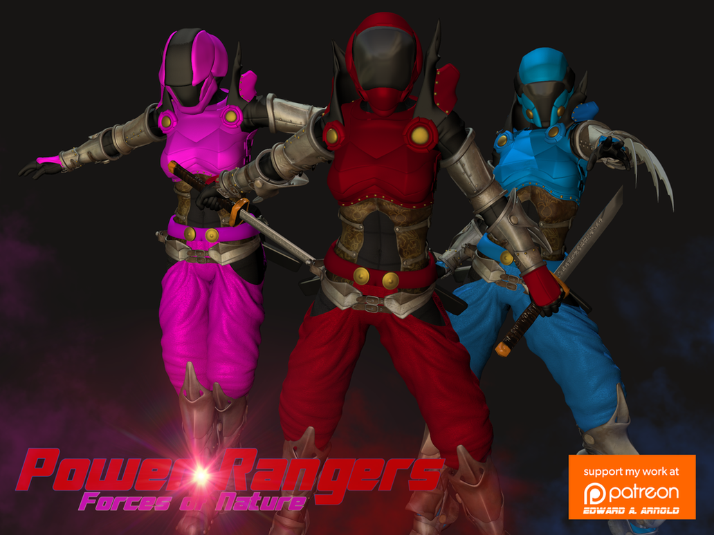 Power Rangers (F.O.N.) by blackzig