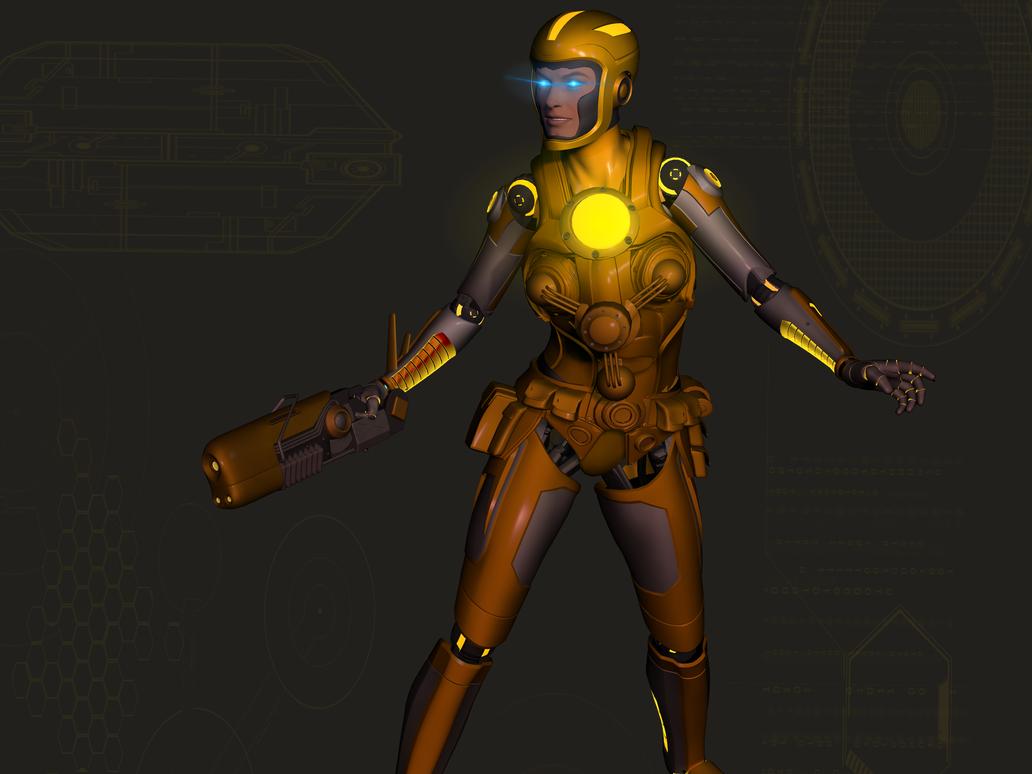 Yellow A.I.3 by blackzig