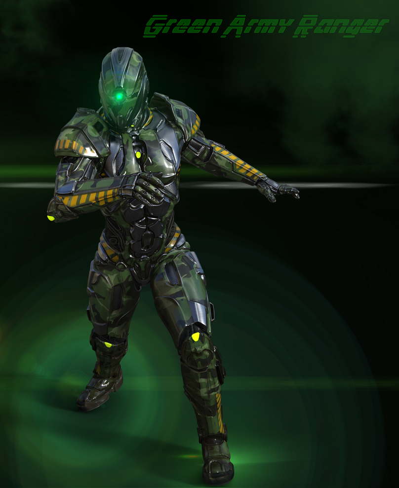 Green Army Ranger2 by blackzig