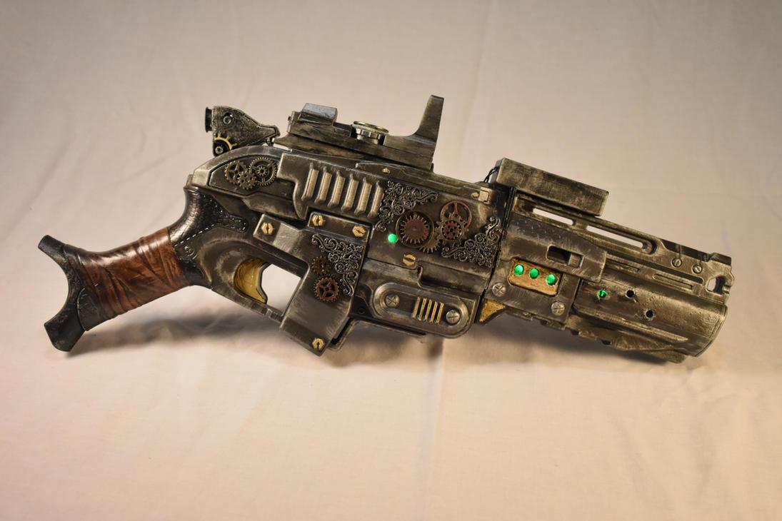 Hand held Ion Blaster by blackzig