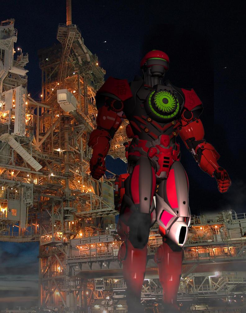Jaeger SideWinder under construction: by blackzig