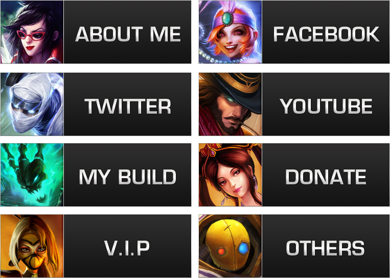 how to add links to twitch panels