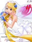 Lucy Heartfilia wedding dress ^_^