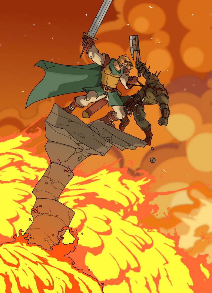 Lava fight color by IgorWolski