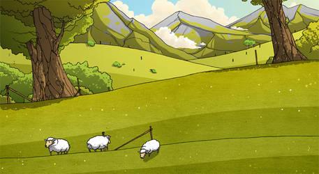 sheep ahoy by IgorWolski