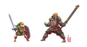 The Legend of Pixel Zelda
