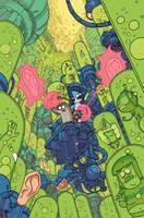 Regular Show comics #32 cover