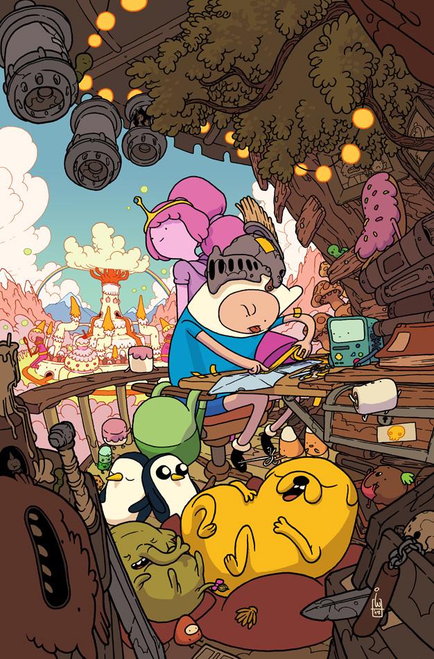 Adventure Time Comics #23 cover by IgorWolski