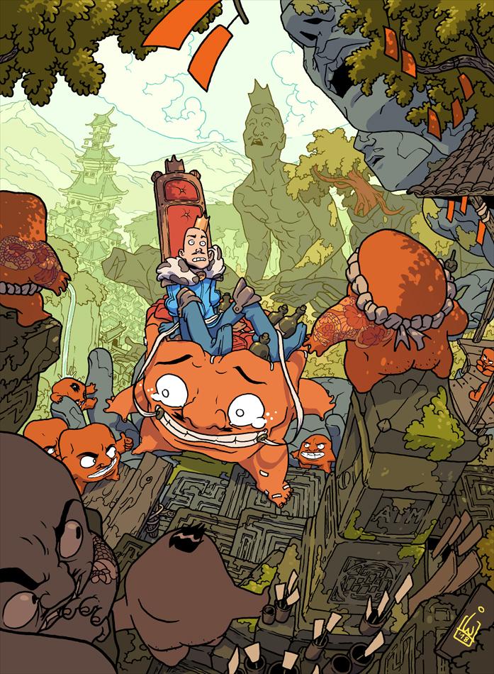 The ambushed king TUTORIAL IN DESCRIPTION by IgorWolski