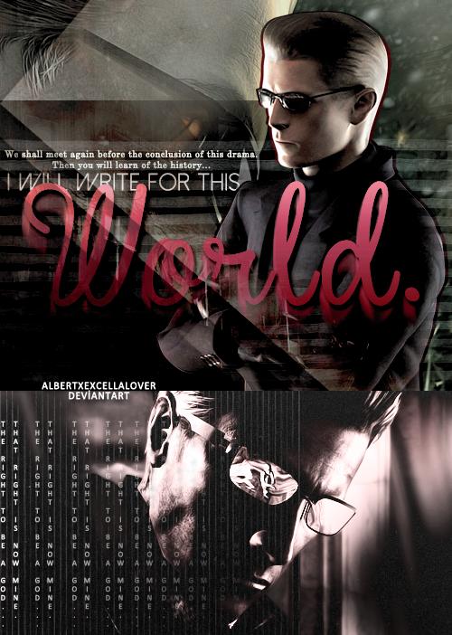 Albert Wesker Tumblr Work #8 by AlbertXExcellaLover
