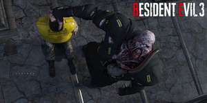 Resident Evil 3 (2020) ~ Nemesis and Brad