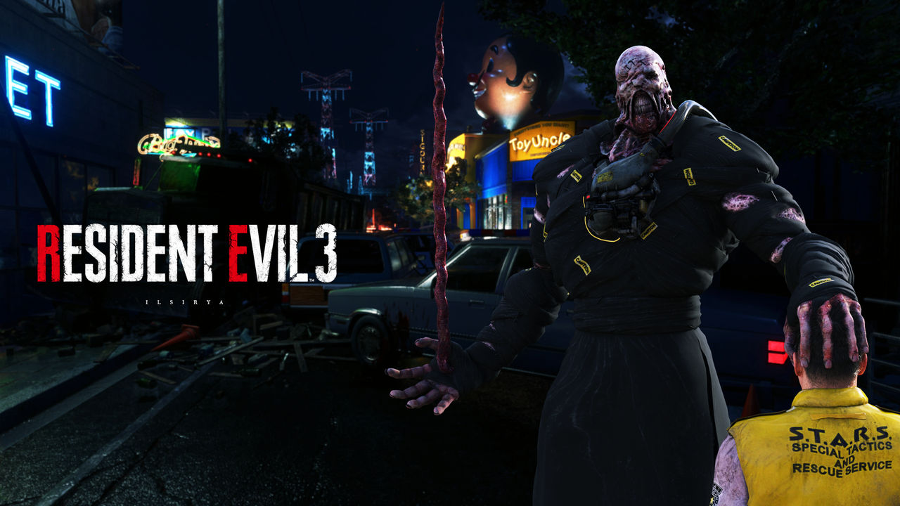 Resident Evil 3 (2020) ~ Nemesis and Brad 2