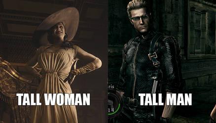 Tall Woman vs Tall Man