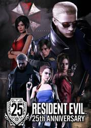 Resident Evil 25th Anniversary Poster