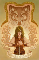 In the Vale Chapter 1 Cover by CrystalCurtisArt