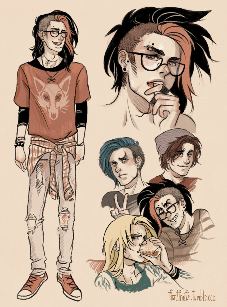 Band Sketches By CrystalCurtis On DeviantArt
