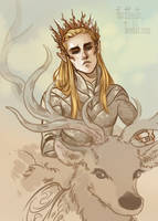 Thranduil the Unsympathetic by CrystalCurtisArt