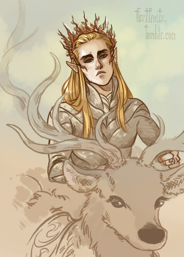 Thranduil the Unsympathetic by CrystalCurtis