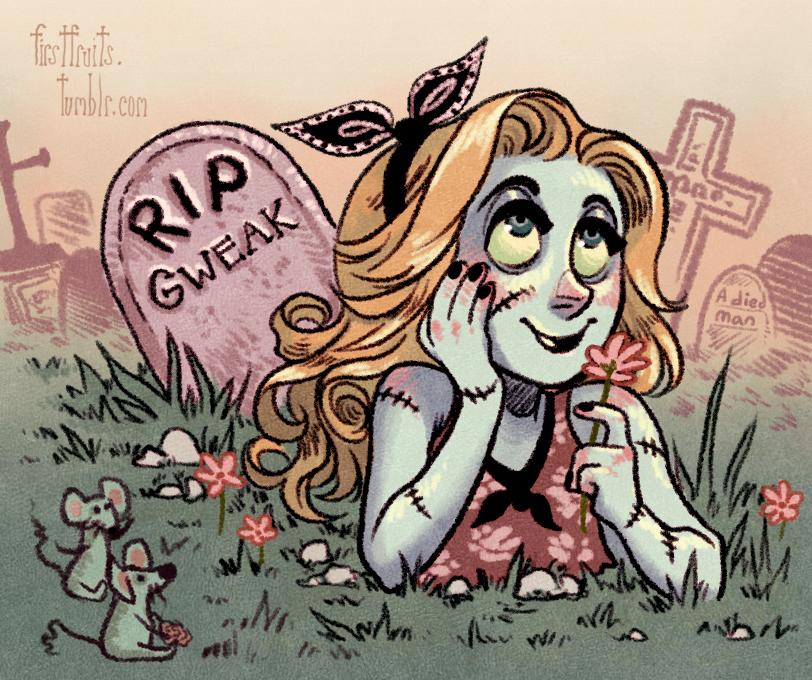 RIP Gweak by CrystalCurtis