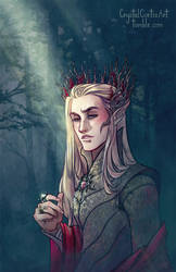 Elvenking by CrystalCurtisArt