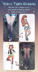 Starry Tights Twitter Giveaway
