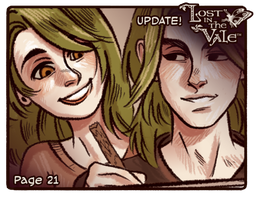 Lost in the Vale - Chapter 1 - Page 21 UP! by CrystalCurtisArt