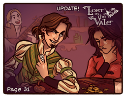 Lost in the Vale Pg 31 - UP! by CrystalCurtisArt