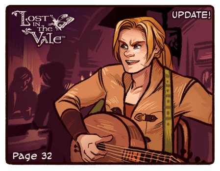 Lost in the Vale Update! - Pg 32