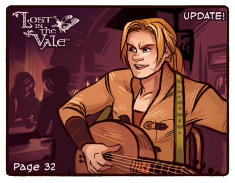 Lost in the Vale Update! - Pg 32 by CrystalCurtisArt