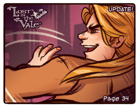 Lost in the Vale Update! - Pg 34