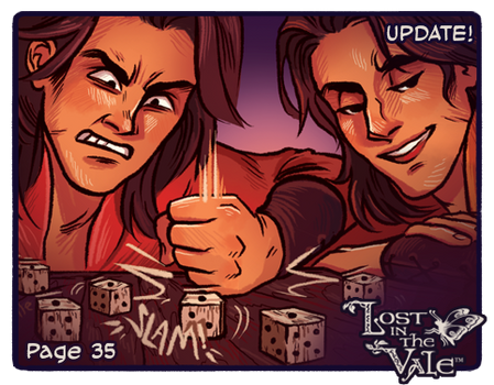 Lost in the Vale Update! - Pg 35