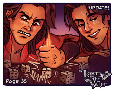Lost in the Vale Update! - Pg 35 by CrystalCurtisArt