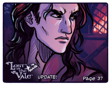 Lost in the Vale Update! - Pg 37