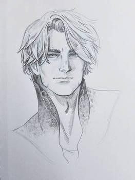 Luke Pencil Portrait
