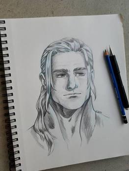 Daniel Pencil Portrait 2020