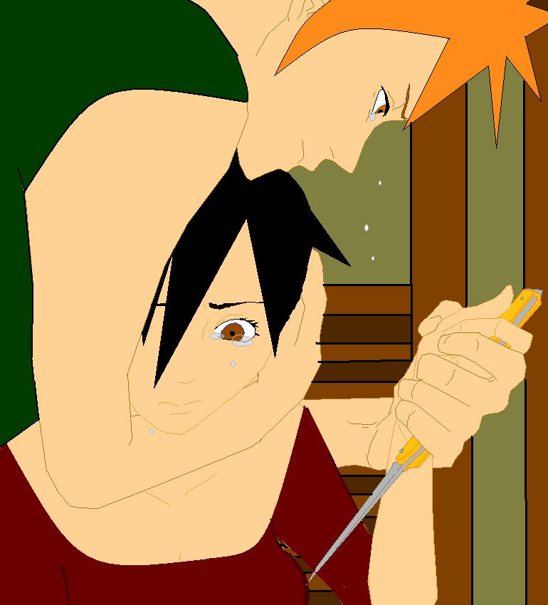 Ichigo and Tatsuki by Kotsune154