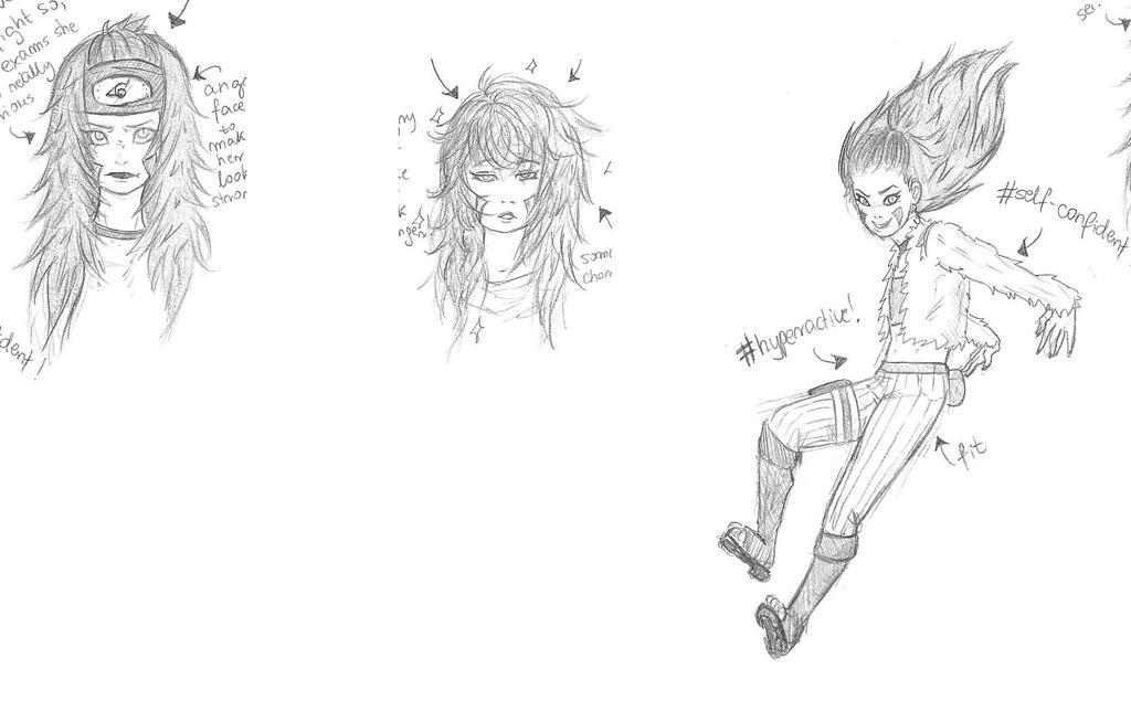 Kirama Inuzuka fast sketches by Kotsune154