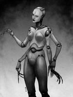 Multiarmed Maiden by k1ssl0ta-art