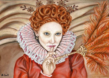 Elizabeth by reveur-artiste