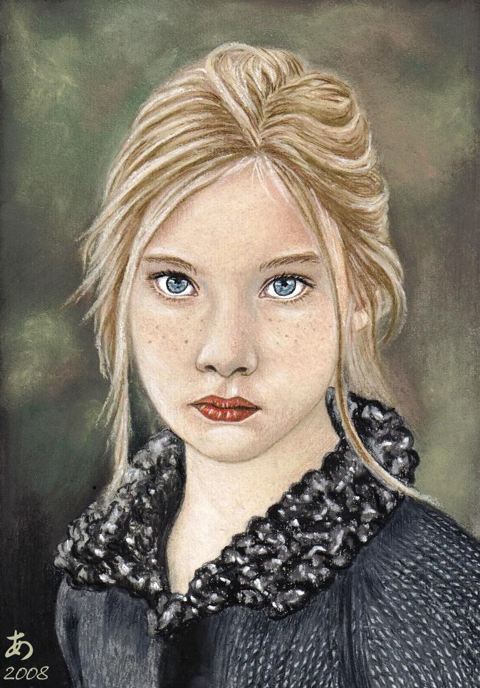 Little lady by reveur-artiste