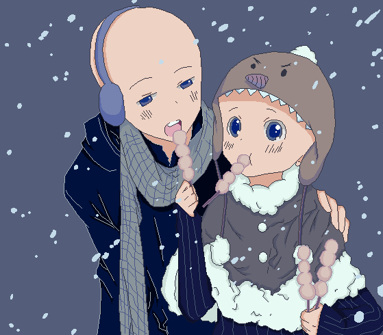 Winter love by Hoshi-Bases