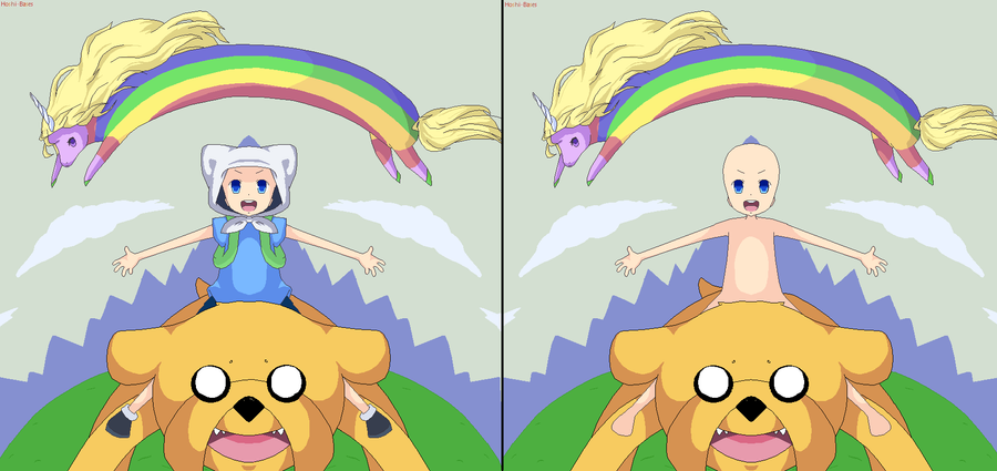 ADVENTURE TIME by Hoshi-Bases