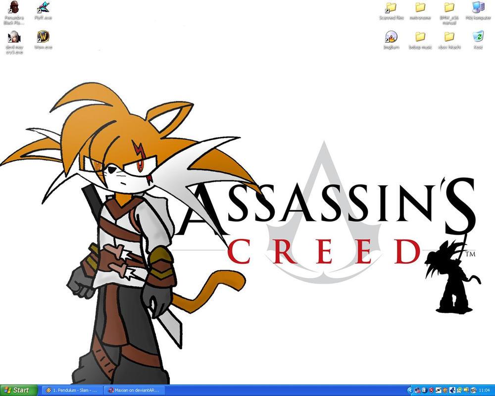 My desktop by Maxian
