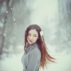 Snow swirl
