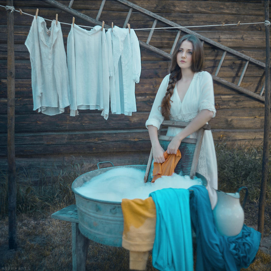 Laundry day by AnitaAnti