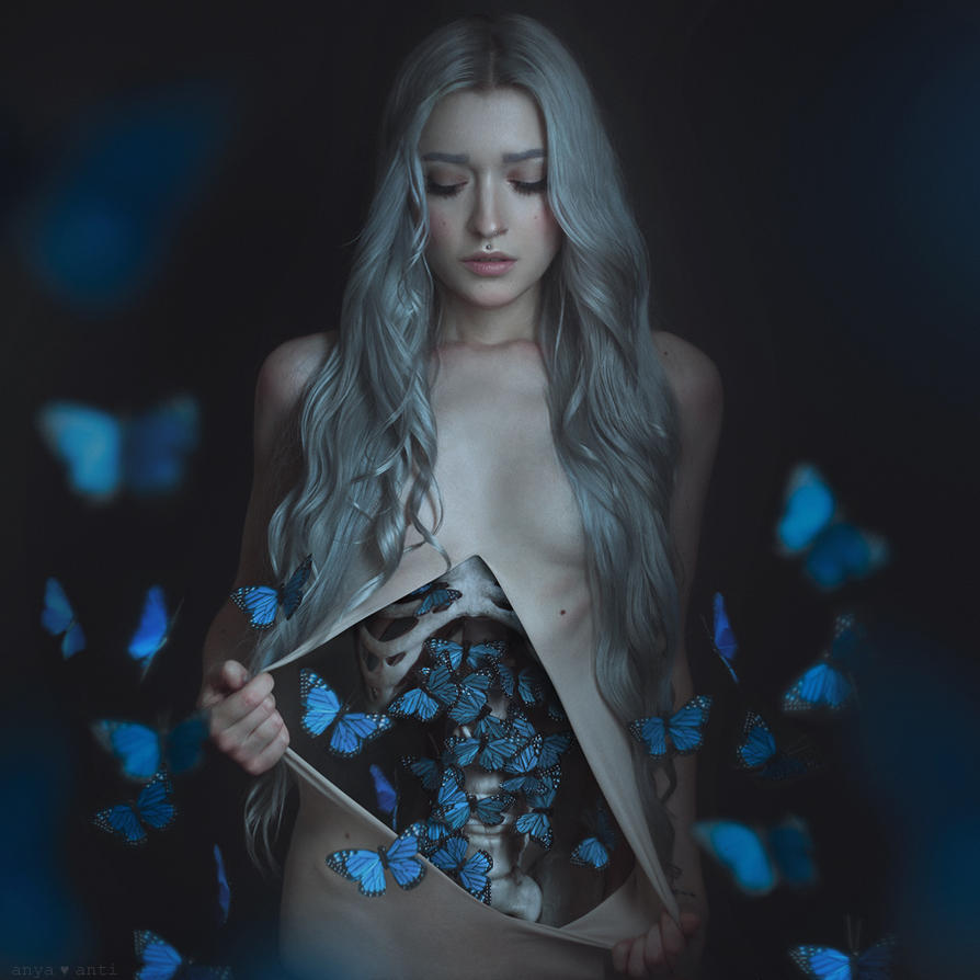 Butterflies in my stomach by AnitaAnti