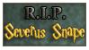 severus snape stamp by samuraiIV
