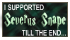 i supported snape by samuraiIV